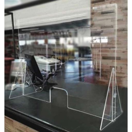 Защитни прегради от плексиглас за магазини, офиси,банки