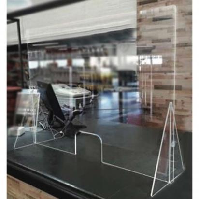 Предпазни прегради от плексиглас за магазини, офиси,банки